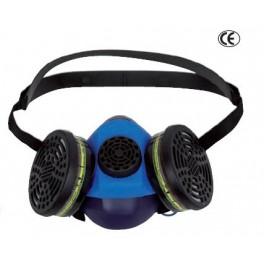 Mascarilla respiratoria 2 filtros