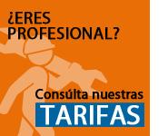 Tarifas especiales para profesionales