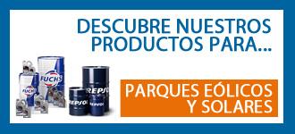 Productos especiales para mantenimiento de máquinas del sector energías renovables