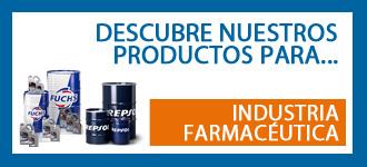 Productos para el mantenimiento de máquinas de la industria farmacéutica
