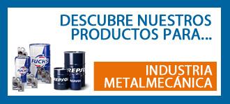 Productos mantenimiento máquinas industria metalmecánica