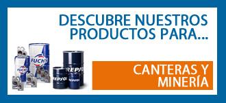Productos para mantenimiento de máquinas sector mineria